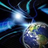 Global Communication vector illustration