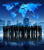 Global Communication Business People Corporate Professional City Stock Images