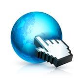 Global communication. Royalty Free Stock Photos