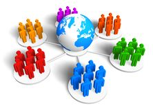 Global communication concept Royalty Free Stock Photography