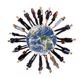Global communication concept Stock Images