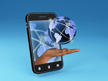 Global communication concept Royalty Free Stock Photos