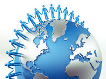Global Communication Concept Royalty Free Stock Image