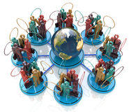 Global communication concept. Social Network Royalty Free Stock Photos