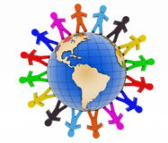 Global communication concept. World partnership Royalty Free Stock Photos