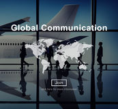 Global Communication Connection Networking Website Concept Royalty Free Stock Image