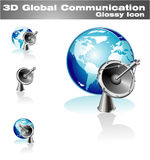 Global Communication Icon Stock Photo