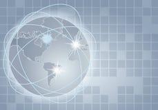 Global communication illustration Royalty Free Stock Image