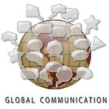Global Communication Royalty Free Stock Images