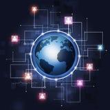 Global Communication Technology Background Royalty Free Stock Image