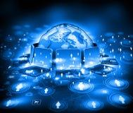 Global communication technology Stock Photo
