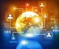 Global communication technology Royalty Free Stock Photography