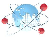Global communication technology Royalty Free Stock Photo