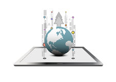Global communication technology Stock Images