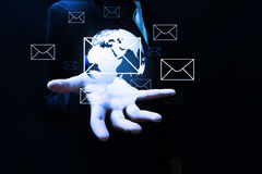 Global communication Stock Photos