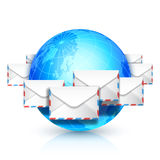 Global communication. Stock Photos