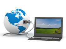 Global communication in the world. Stock Photography
