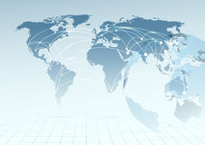 Global communicational channels background Stock Images