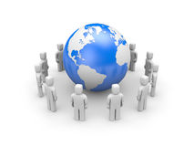 Global communications Royalty Free Stock Photo
