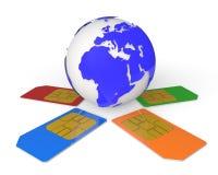 Global Communications Stock Photos