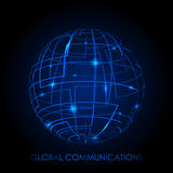 Global communications Stock Image