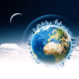 Global communications. Royalty Free Stock Images