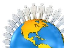 Global Communications Stock Photo