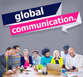 Global Communications Connection Communicate Concept Royalty Free Stock Photo