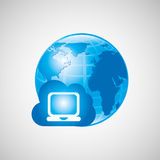 global communications design Stock Photos