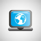 global communications design Stock Images