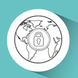 global communications design Royalty Free Stock Photos