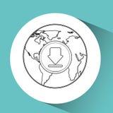 global communications design Stock Photo