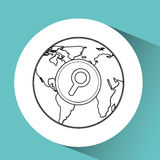 global communications design Royalty Free Stock Photography