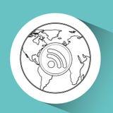 global communications design Stock Image