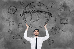 Global communications. Stock Images