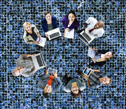 Global Communications Technology Laptop Digital Devices Concept Royalty Free Stock Photography