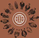 Global Community International Worldwide World Connected stock images