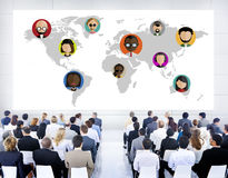 Global Community World People Social Networking Concept Stock Images