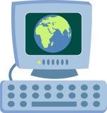Global Computer Stock Image