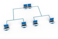 Global Computer Network royalty free illustration