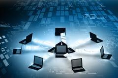 Global computer Network. Concept Stock Photos
