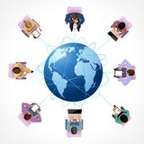 Global concept Royalty Free Stock Photo