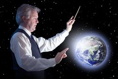 Global conductor Stock Images