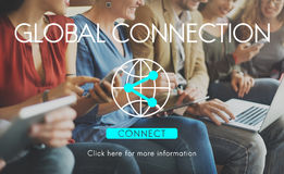 Global Connection Accessible Internet Technology Concept Royalty Free Stock Images