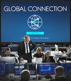 Global Connection Accessible Internet Technology Concept Stock Image