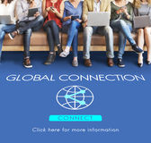 Global Connection Accessible Internet Technology Concept. Global Connection Accessible Internet Technology Stock Photo