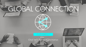 Global Connection Accessible Internet Technology Concept. Business Global Connection Accessible Internet Technology Stock Photography