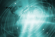 Global Connection Background Concept Series 08 Stock Photo