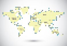 Global connection of cells Stock Images
