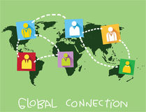 Global Connection Concept Royalty Free Stock Images